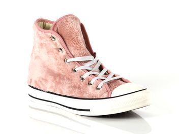 9cf08173bc Converse Chuck Taylor All Star Hi Faux Fur Pink Female 559027C